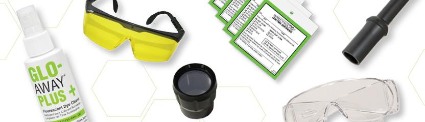 産業用リーク検出ツールおよび交換部品